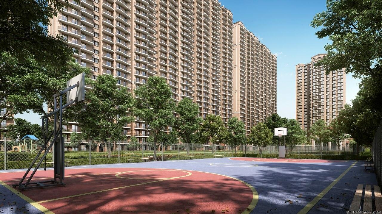 HomeKraft Luxurious Apartments - basket ball court