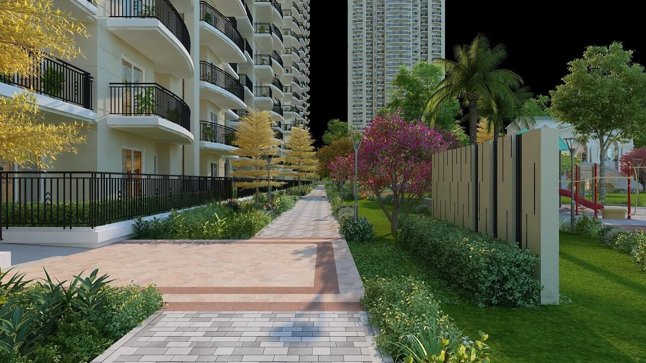 HomeKraft Luxurious Apartments - Green Area