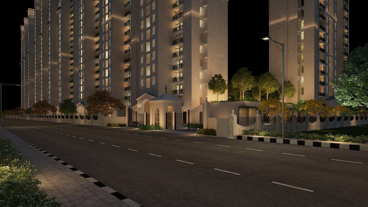HomeKraft Luxurious Apartments - Entrance Gate