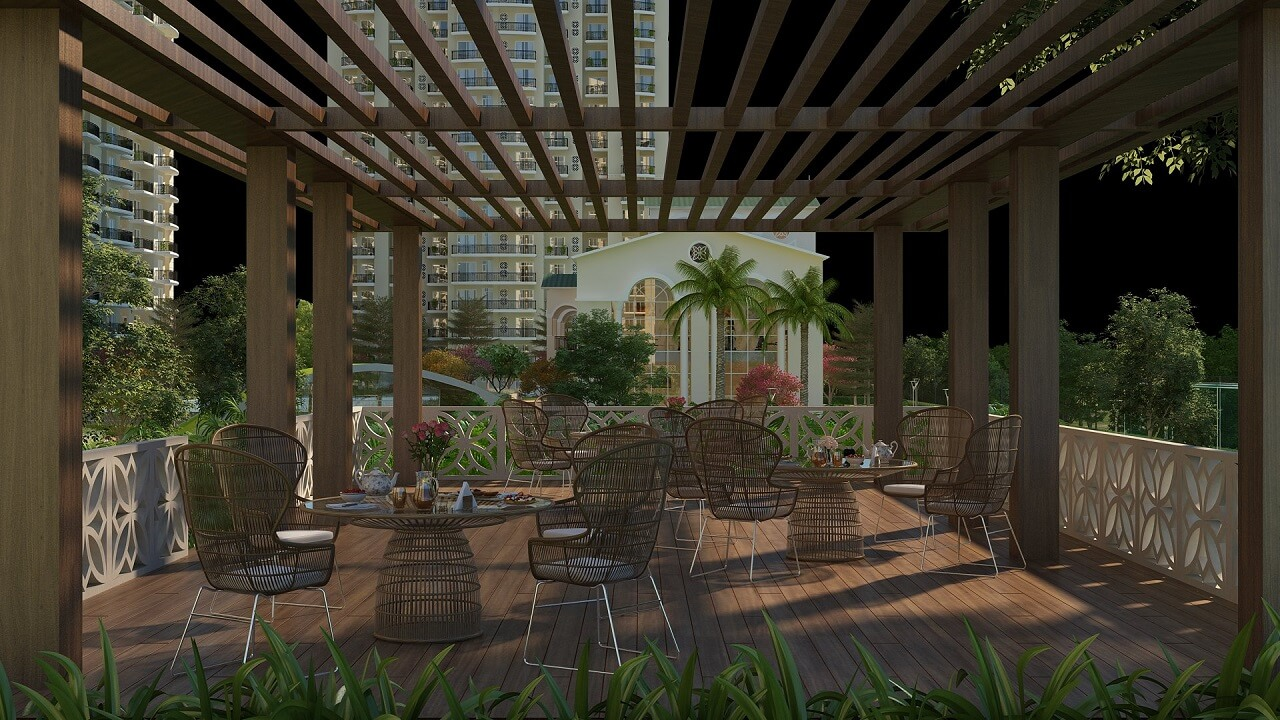 HomeKraft Luxurious Apartments - Public Sitting