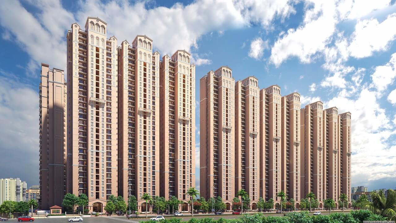 HomeKraft Luxurious Apartments - road side
