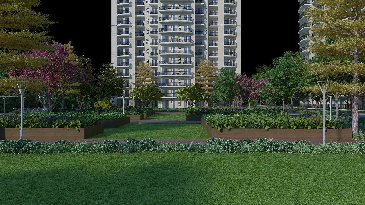 HomeKraft Luxurious Apartments - Community Garden